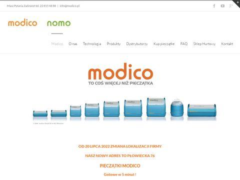 Modico.pl stemple