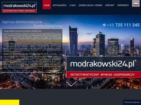 Modrakowski24.pl firma detektywistyczna