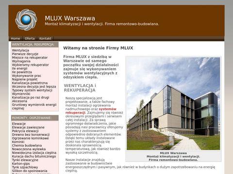 MLUX - Klimatyzacja i wentylacja Warszawa
