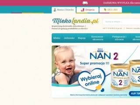 Mlekolandia.pl - mleko następne sklep
