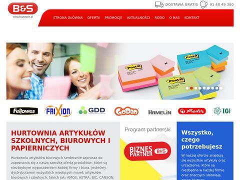 B & S hurt materiałów papierniczych Szczecin