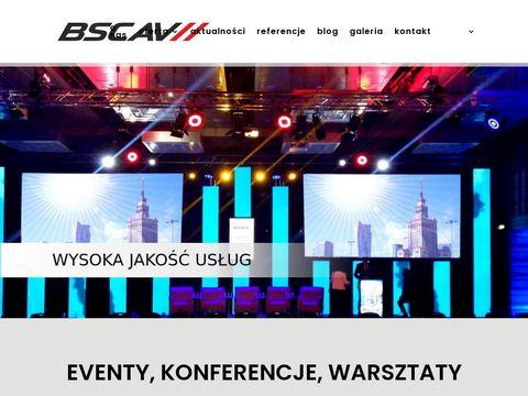 BSC AV oświetlenie sceniczne led