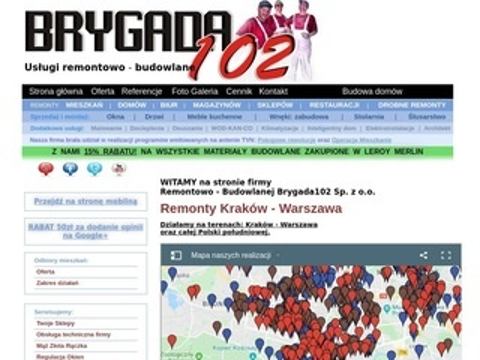 Brygada102 usługi remontowe w Krakowie