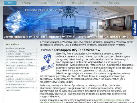 Usługi sprzątania - Wrocław