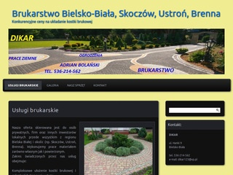 Dikar - brukarstwo Bielsko-Biała