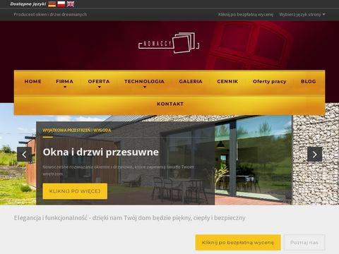 Bracianowaccy.pl producent okien i drzwi drewnianych