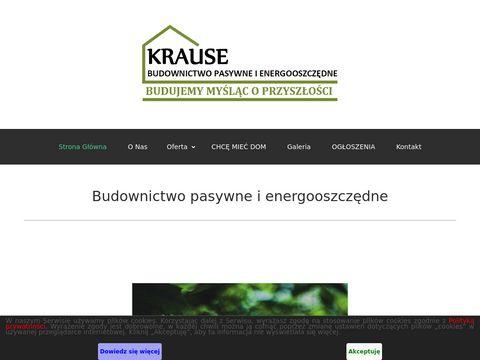 Bpiekrause.pl domy pasywne