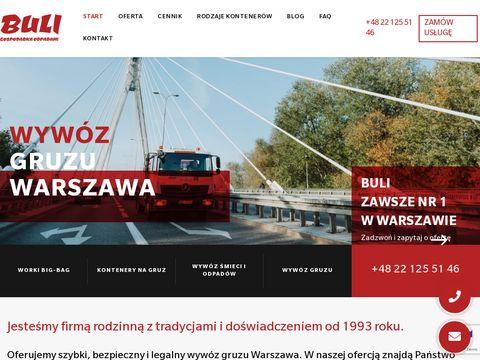 Buli.com.pl wywóz śmieci