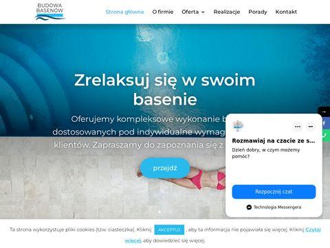 Budowabasenow.com klejenie mozaik