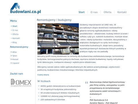 Budowlani.co.pl - docieplenia budynków