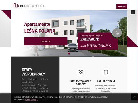 Budocomplex budowa domów jednorodzinnych