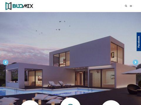 Budmix produkcja okien z aluminium