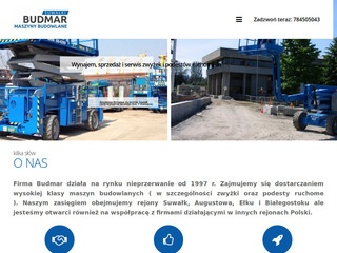 Budmar Suwałki sprzedaż maszyn budowlanych