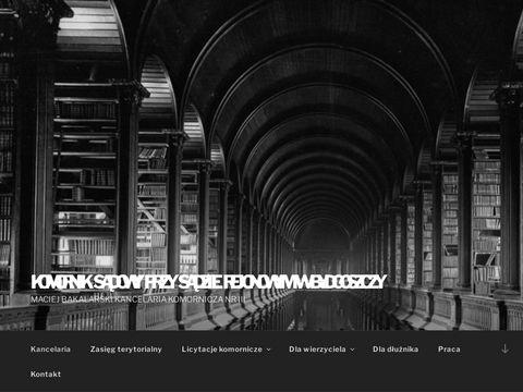 Bydgoszcz.bakalarski.komornik.pl