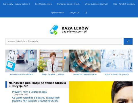 Baza-lekow.com.pl - ulotki do leków