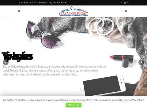 Bazarodziezowy.pl franczyza