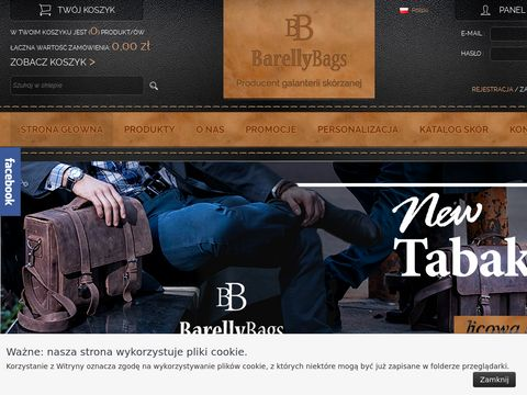 Barelly Bags - teczki skórzane