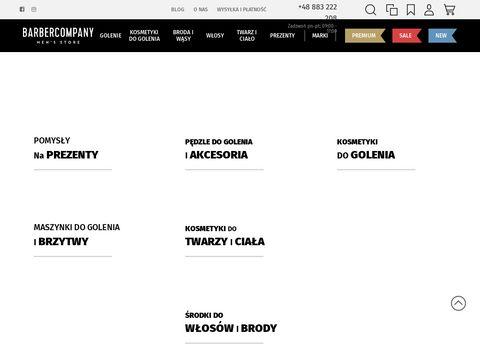 Barbercompany.pl brzytwa do golenia