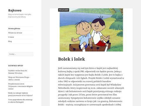 Bajkowo.net.pl wilk i zając