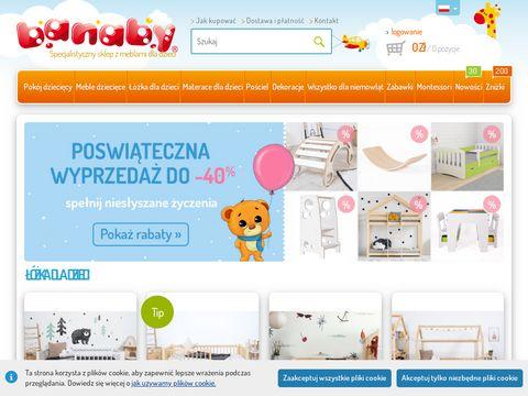 Banaby.pl meble dziecięce