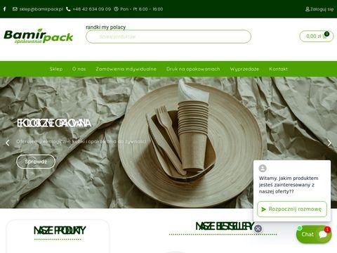 Bamirpack.pl opakowania jednorazowe