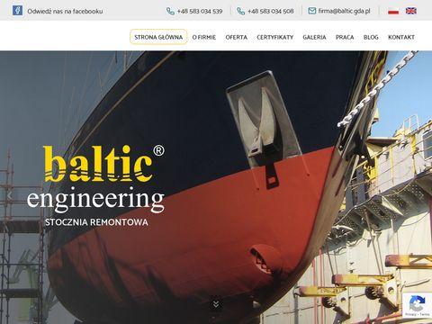 Baltic.gda.pl remonty siłowni okrętowych