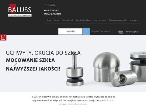 Baluss.pl: Daszki szklane