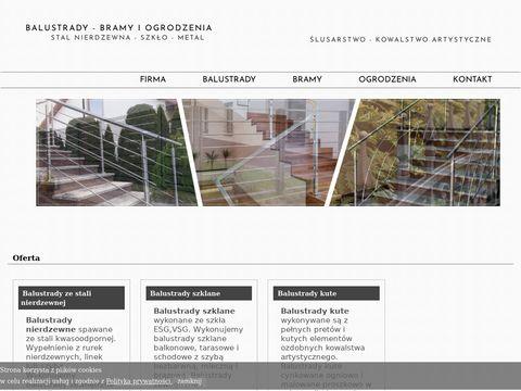Balustradka.pl ogrodzenia i balustrady