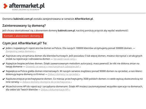 Babinski.com.pl - schody metalowe okrągłe