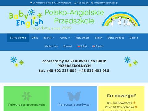 Przedszkole Warszawa Wilanów