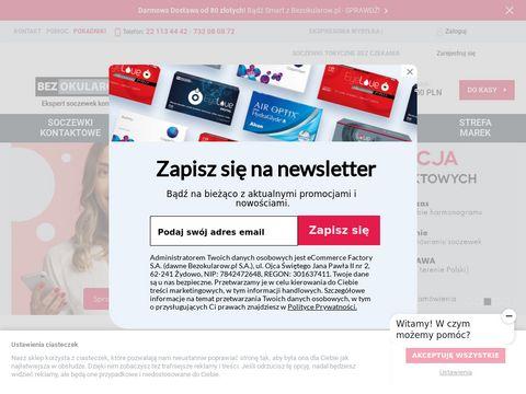 Bezokularow.pl szkła kontaktowe