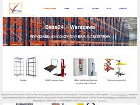 Besa24.pl wyposażenie