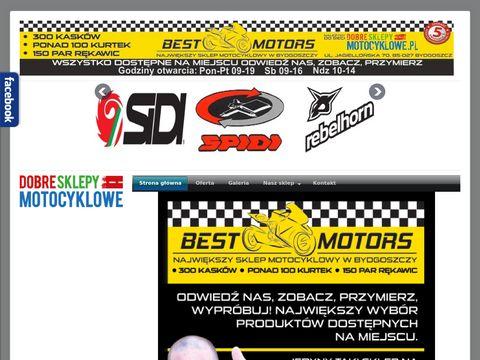 Best-Motors największy sklep motocyklowy