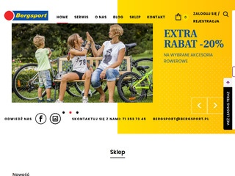 Bergsport.pl sklep rowerowy Wrocław