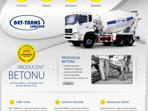 Bet-Trans - usługi transportowe