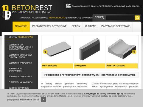 Betonbest.pl - wyroby i prefabrykaty betonowe