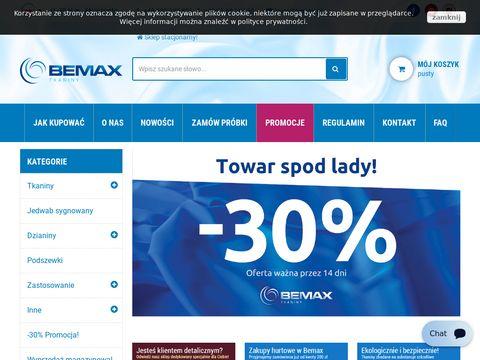 Bemax.pl tkaniny bawełniane sklep internetowy