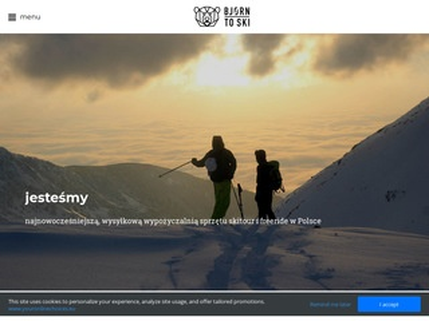 Bjorn.ski - wypożyczalnia nart skitur