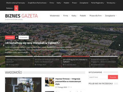 BiznesGazeta.pl - biznes, finanse, inwestycje