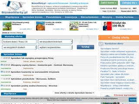 BiznesOferty.pl - szukam importerów odzieży