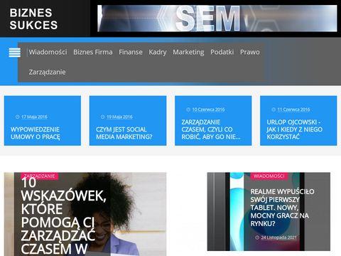 Biznessukces.pl portal