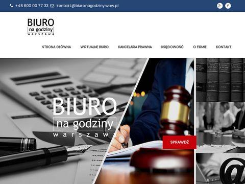 Biuronagodziny.waw.pl księgowość Warszawa