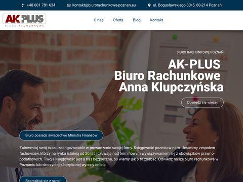 A.K-Plus kompleksowa obsługa księgowa firm