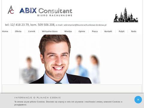 Abix Consultant usługi księgowe firm transportowych