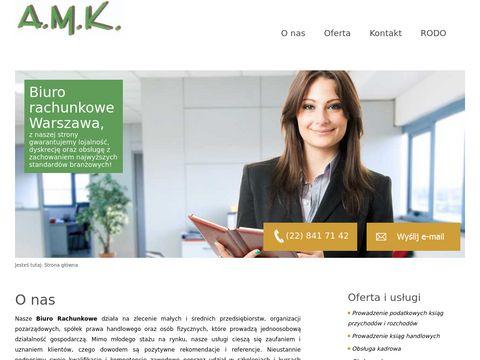 Biurorachunkoweamk.pl księgowość