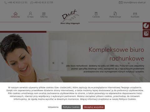 Duet s.c. FHU. Filipiak G. pełna księgowość Łódź