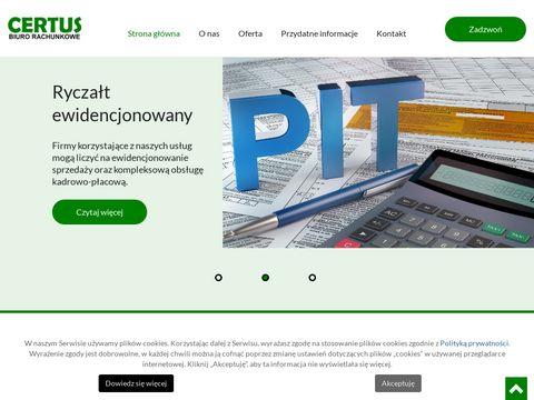 Biuro rachunkowe CERTUS - Częstochowa
