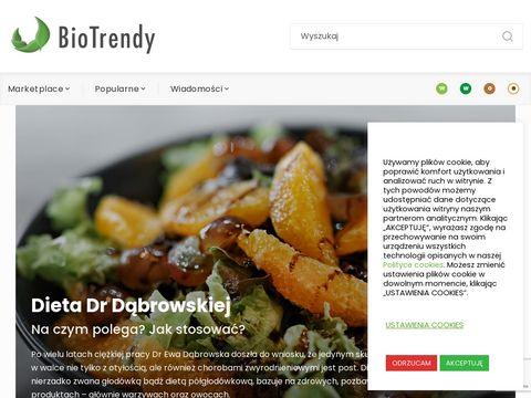 Biotrendy.pl katalog produktów drogeryjnych
