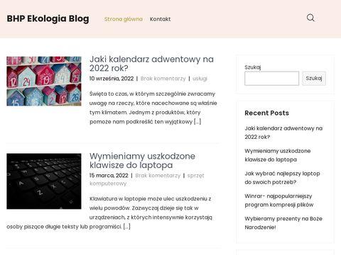 BHP-Ekologia.pl usługi