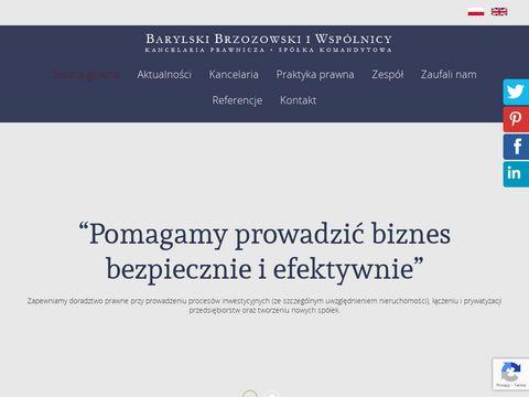 BOB obsługa prawna spółek Warszawa